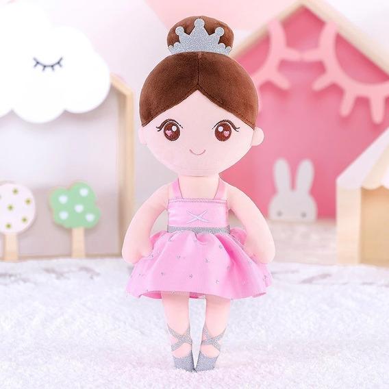 Boneca Gloveleya Bailarina Castanha Original