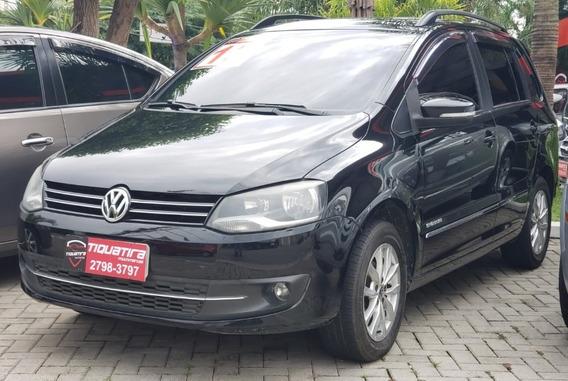 Volkswagen Spacefox 1.6 Sportline 2013 Completa 4 Pts Preta
