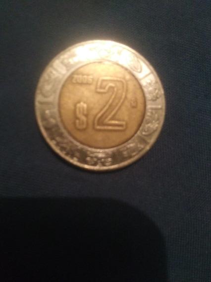 Modena Mexicana De $2 Pesos