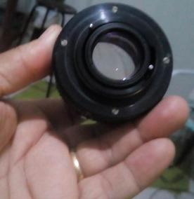 Lente 50mm Zenit Tranformada Para Nikon Qualquer Modelo