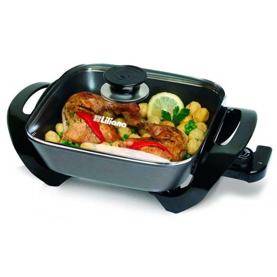 Cocina Electrica Grill Liliana Ak100 Kitchinet 1500w 7 En 1