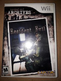 Resident Evil Archives Wii