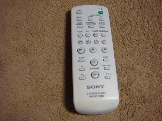 Controle Remoto Original Sony Modelo Rm-sc-50