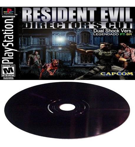 Resident Evil Directors' Cut (legendado Pt-br) Playstation 1