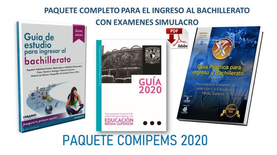 Guia Conamat 5ta Ed. Comipems C/ Temario Desarrollado