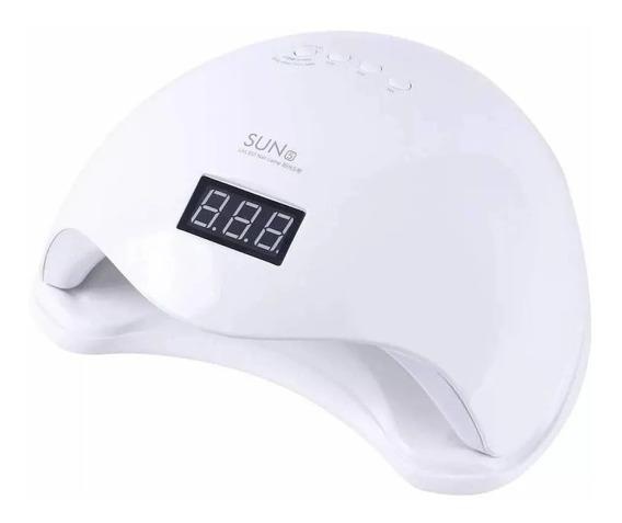 Cabine Sun 5 48w Branca Original Bivolt Uv/led Sensor Timer