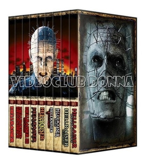 Hellraiser Saga Completa En Dvd 10 Peliculas Colección Pack