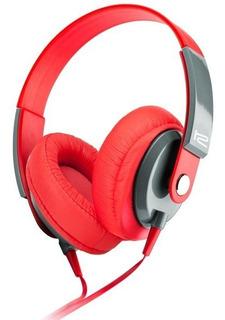 Auriculares Klip Xtreme Obsession Rojo Mic Khs-550rd Noaweb