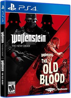Wolfenstein Doble Pack Ps4 Nuevo Fisico Sellado