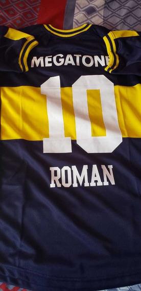 Camiseta Boca Juniors Campeón Libertadores Nuevo T. S M L
