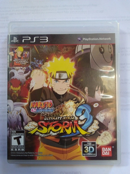 Jogo Naruto Shippuden Ultimate Ninja Storm 3 Ps3 Fi. R$99,90