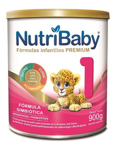 Leche Nutribaby 1 Premium 0 A 6 Meses X 900 G Nutri Baby