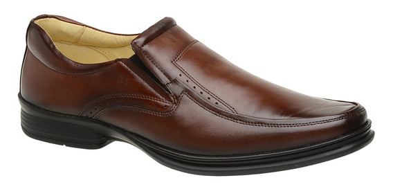 Sapato Rafarillo Masc. Conforto Pinhão Tamanho Grande 9207