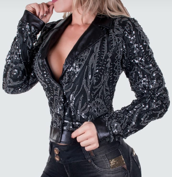 Jaqueta Pit Bull Jeans Feminina Ref 26442