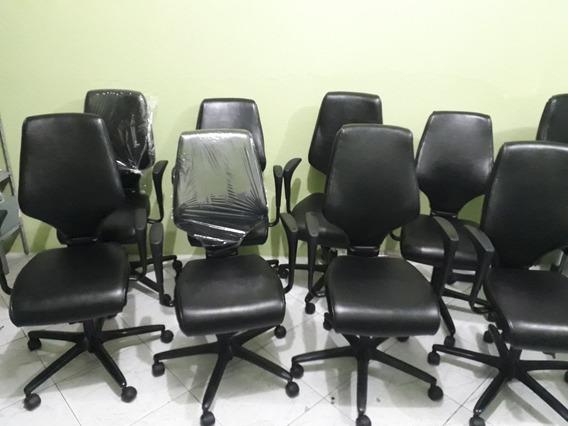 Lote De 5 Cadeiras Giroflex Candall 64