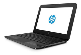 Notebook Hp Black Edition Tela11.6 4gb 32gb Intel N4000