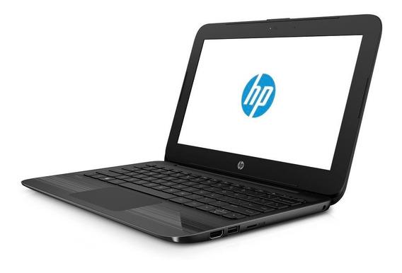 Notebook Hp Black Edition Tela11.6 4gb 32gb Intel N4000