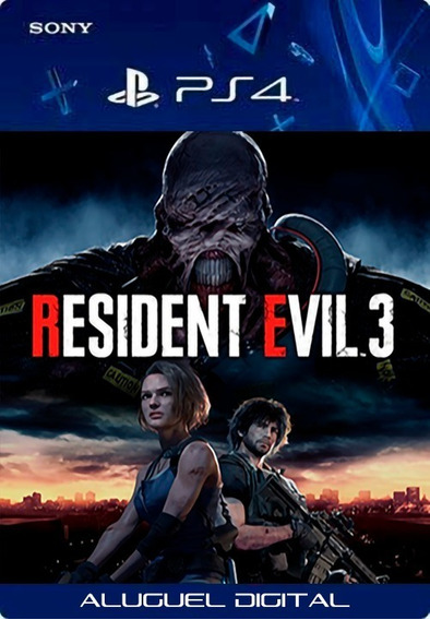 Resident Evil 3 Remake Ps4 | User2 | Aluguel 7 Dias