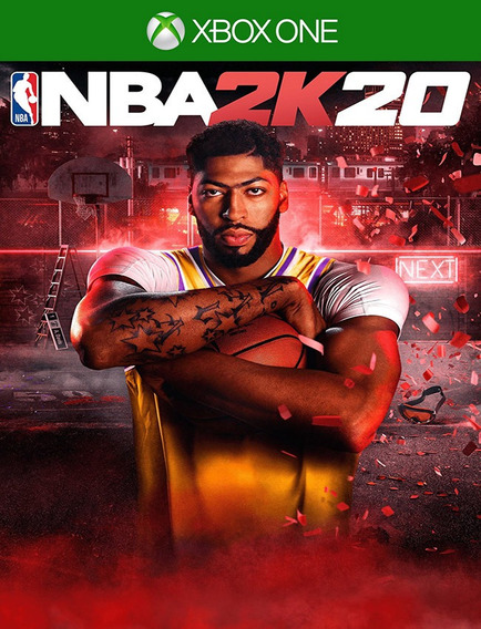 Nba 2k20 Xbox One - 25 Dígitos (envio Flash)