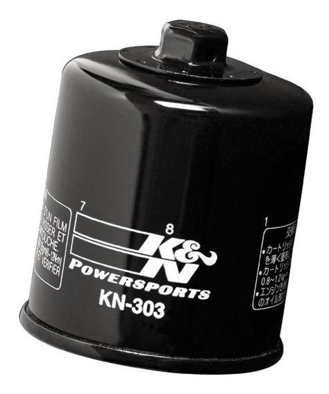 Filtro Óleo K&n Kn-303 Z750 Z800 Z900 Z1000 Versys Zx6 Zx10