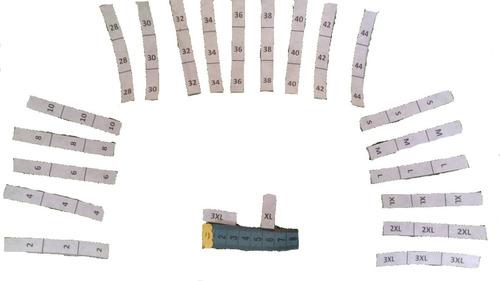 Tallas Estampadas Elaboradas En Pelon 1000 Unidades