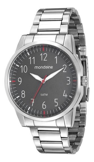 Elegante Relógio Masculino Mondaine 53530g0mvne2 De Vltrine