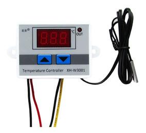 Termostato Digital 12v W3001 Temperatura Chocadeira Aquário