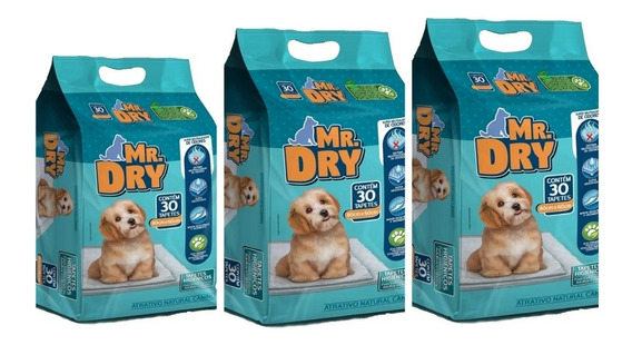 Combo 3 Tapete Slim Pads Total 90 Unidades Med 80x60