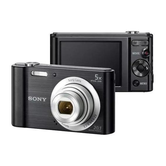 Câmera Sony W800 Cyber Shot 20.1 Mp Tela Lcd