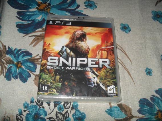 Jogo Sniper Ghost Warrior Ps3 Mídia Física Novo (lacrado)