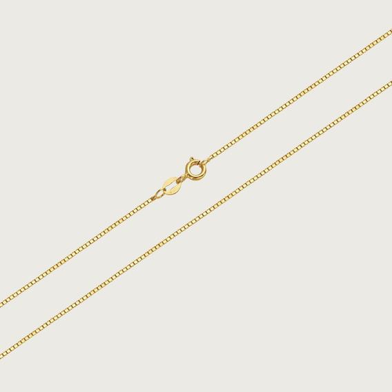 Cordão Em Ouro 18k - 40cm