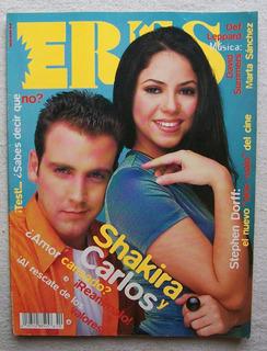 Revista Eres # 214 1997 Shakira Y Carlos Ponce