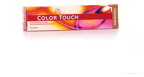 Tintura Color Touch De Wella Coloracion Profesional Cabello