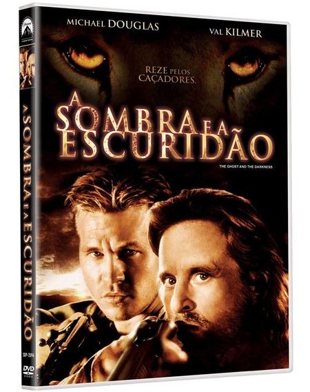Dvd A Sombra E A Escuridão Michael Douglas Val Kilmer Lacrad