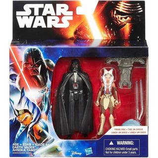 Star Wars Force Awakens - Darth Vader Y Ashoka - Hasbro 10cm