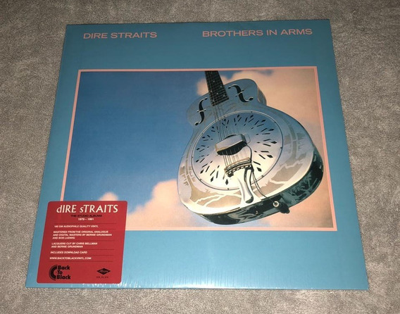 Dire Straits Brothers In Arms Disco Duplo Vinil Lp Importado