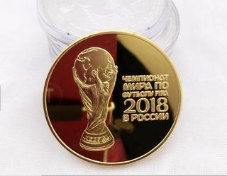 Moneda Conmemorativa Mundial De Rusia 2018