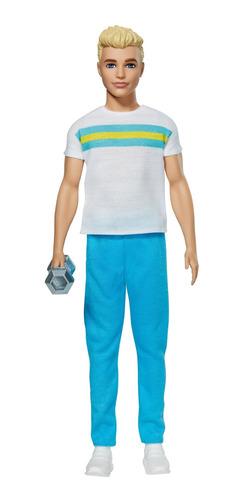 Imagen 1 de 4 de Barbie Fashionista, Ken 60 Aniversario Deportista