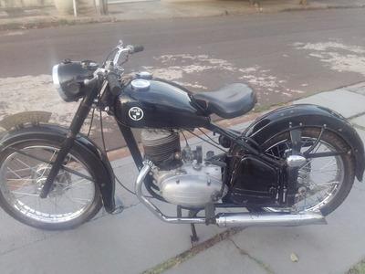 Motocicleta Antiga Puch Typ 250 Tf - 1952