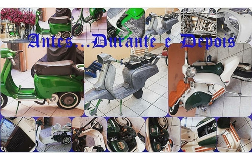 Imagem 1 de 9 de Lambretta Do Brasil Mini Saia