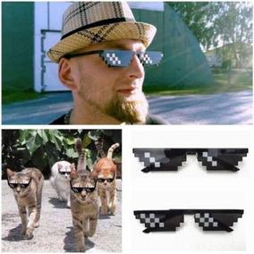 Thug Life Deal With Pixel Lentes De Sol Polarizado