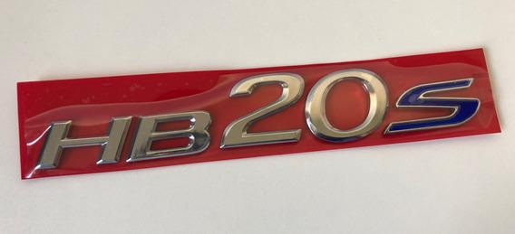 Letreiro Emblema Hb20s Hb20 S Cromado Hyundai