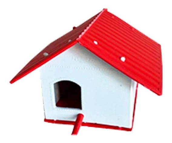Casa Para Pássaros Ecológica Resistente Ao Tempo