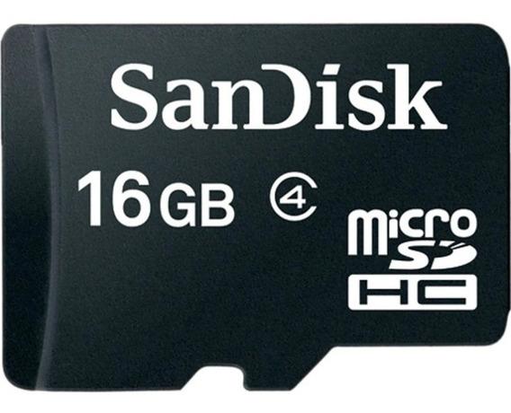Cartão De Memória Sandisk 16gb Micro Sd Classe 4 Promoção