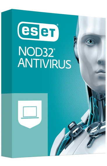 Eset Nod32 Antivirus V12 2019 - 3 Pcs 2 Anos Windows