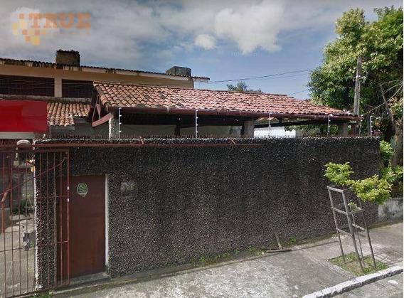 Casa Com 5 Dormitórios À Venda, 380 M² Por R$ 980.000,00 - Casa Amarela - Recife/pe - Ca0352