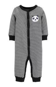 Macacão Panda Listrado