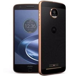 Celular Motorola Moto Z 1650 Preto E Dourado +nota Fiscal