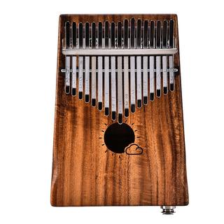 Enlace 17 Teclas Eq Kalimba Sólido Acacia Pulgar Pianomuspor