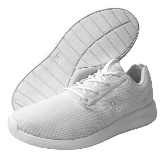Tenis Dc Unisex Blanco Midway Mx Adjs700058103